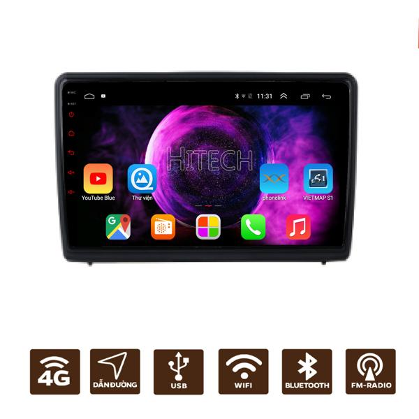 Màn Hình Android Ford Ecosport 2013-2017 Hitech H500 Cắm Sim 4G