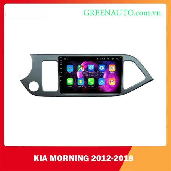 Màn hình Android Kia Morning 2012-2018  Hitech H500 Cắm Sim 4G