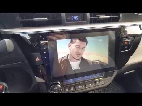 Màn DVD Android cho Toyota Corola Altis 2012-2016