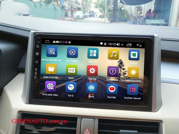 Màn Hình Android Mitsubishi Xpander Thương Hiệu Hitech Pro Cắm  Sim 4G
