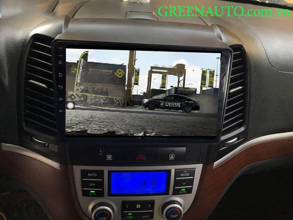Màn Hình Android Hyundai Santafe 2006-2012 Hitech H500  Cắm Sim 4G