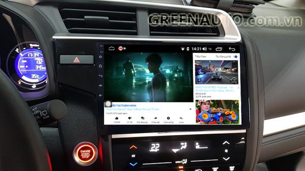 Màn hình Android Honda Jazz 2014-2018 Hitech H500 Cắm Sim 4G