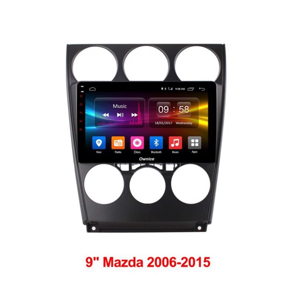 DVD Ownice xe Mazda 6