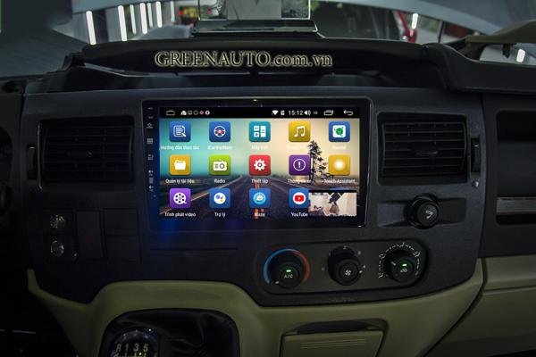 Màn Hình Android Ford Transit Thương hiệu Hitech Pro Cắm Sim 4G