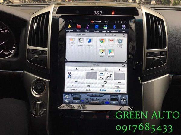 Màn hình Tesla Android Land Cruiser