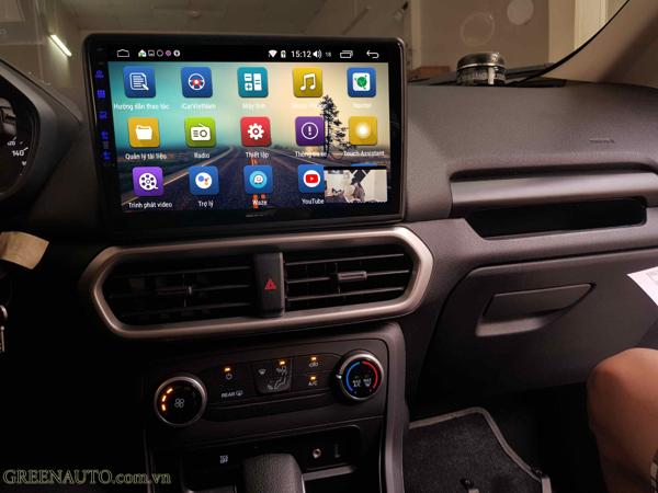 Màn Hình Android Ford Ecosport 2018 Thương Hiệu Hitech Pro Cắm Sim 4G
