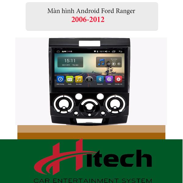 Màn Hình Android Ford Everest 2006-2012 Hitech Pro Cắm Sim 4G