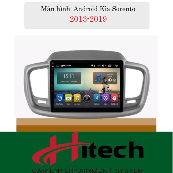 Màn Hình Android Kia Sorento 2014-2018 Hitech Pro
