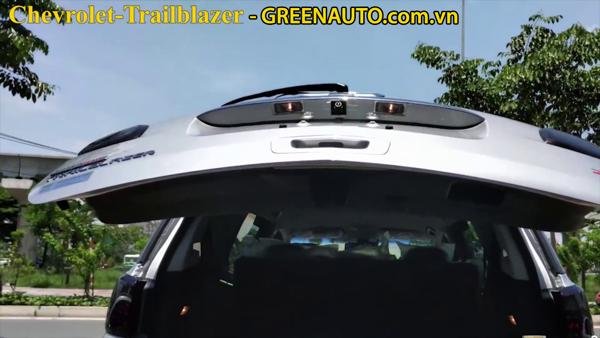 Độ Cốp Điện Tự Động Đóng Mở Cho Chevrolet Trailblazer 2018