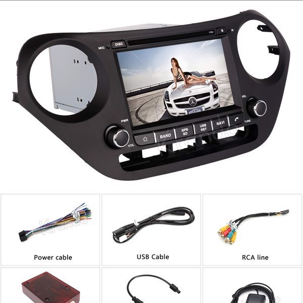 DVD Android theo xe Hyundai Grand i10