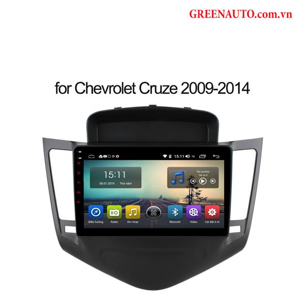 Màn Hình Android Chevrolet Spark 2008-2017 Hitech Pro Cắm Sim 4G