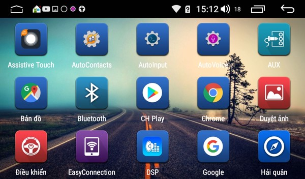 Màn hình Android Yaris 2012 - 2018