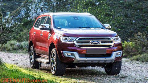 Bậc Điện Lên Xuống Ford Everest 2016-2019