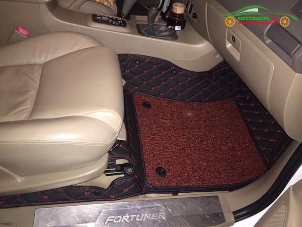 Thảm Lót Sàn 5D và 6D Toyota Fortuner