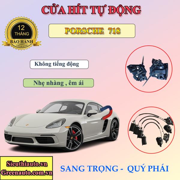 Độ Cửa Hít Điện Tự Động Cho Xe Porsche 718.