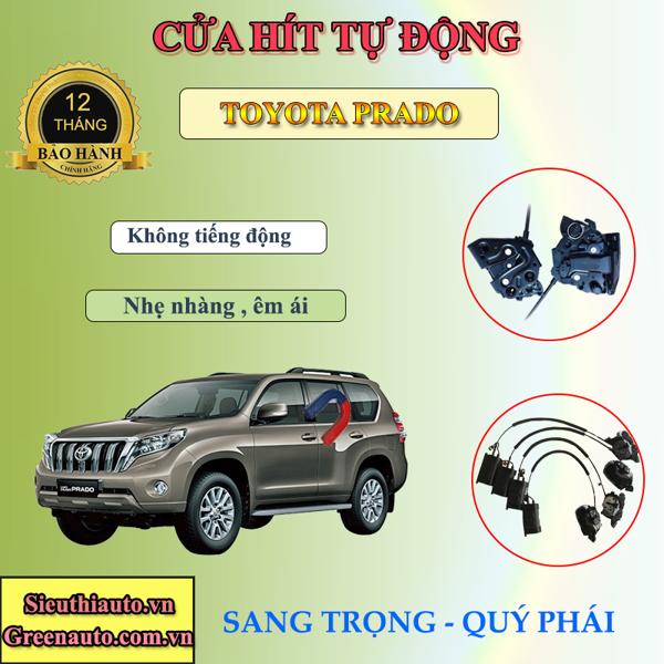 Độ Cửa Hít Điện Tự Động Cho Xe Toyota Land Cruiser  Prado