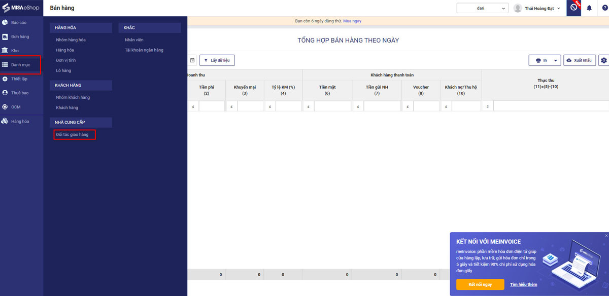 Chốt đơn nhanh, giao hàng thả phanh - Chọn ngay GHN trên MISA eShop