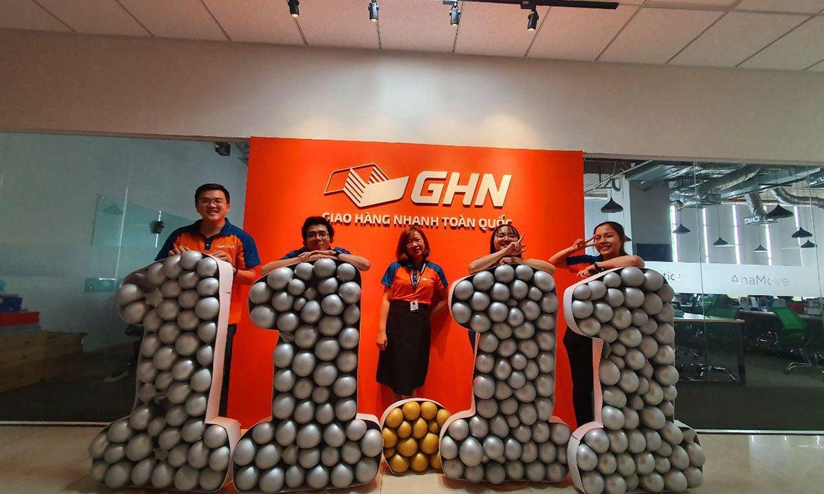 Không khí siêu event 11/11 siêu vui siêu hoành tráng tại gia đình GHN