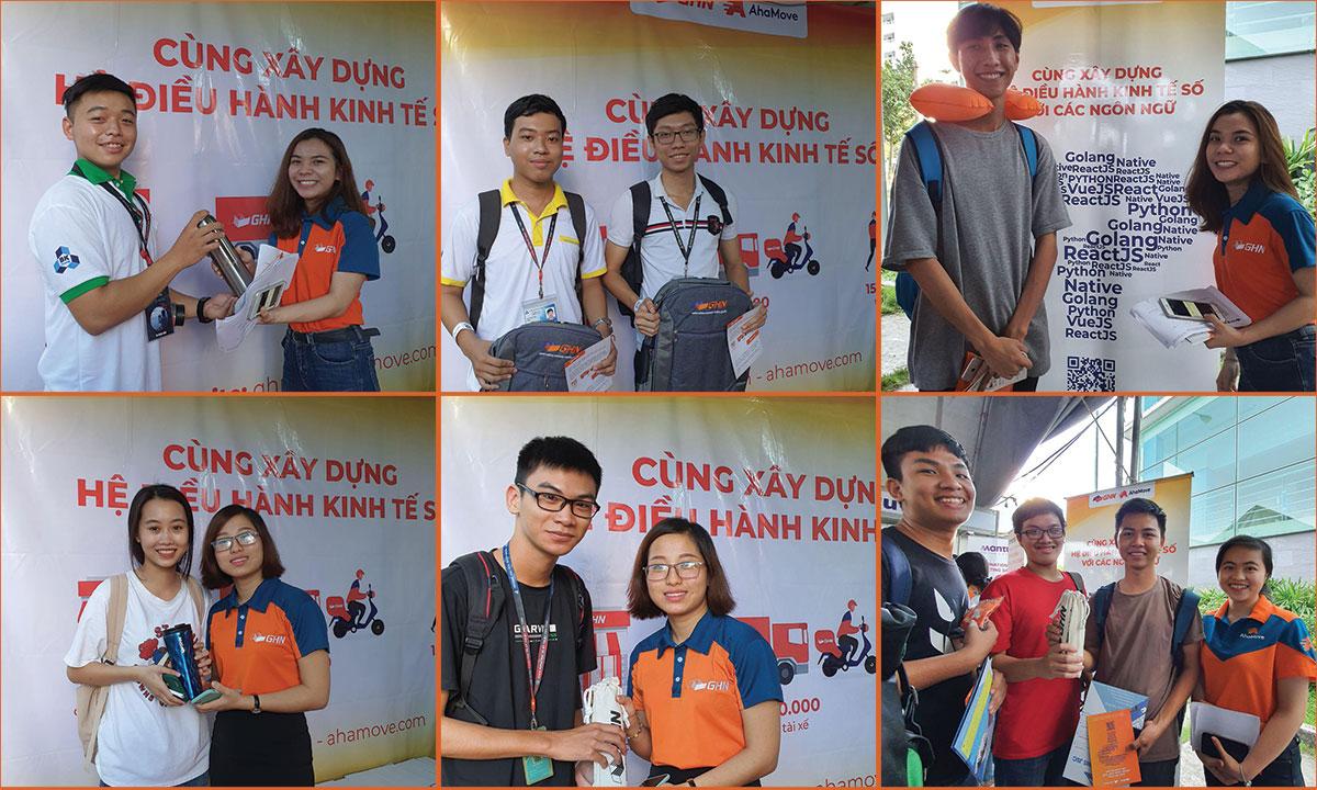 GHN và AhaMove tham gia Ngày hội việc làm tại Đại học Bách Khoa TP.HCM