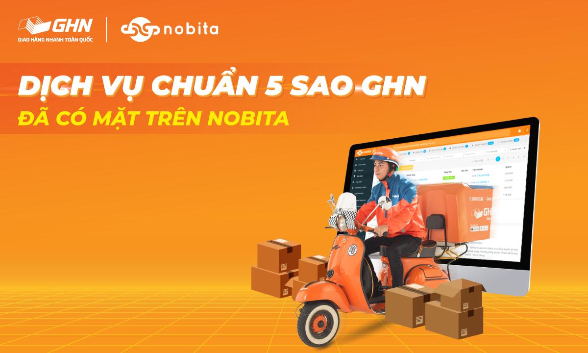 GHN đã có mặt trên phần mềm quản lý đơn hàng đa kênh NOBITA.PRO
