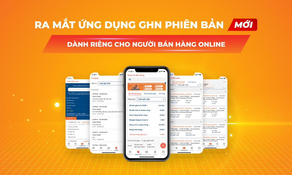 Hướng dẫn trải nghiệm phiên bản mới App GHN