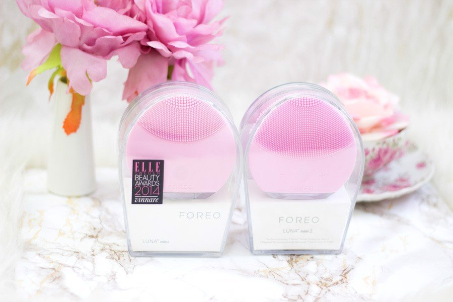 So sánh Foreo Luna mini 2 và Luna Mini