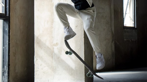 Skateboard style