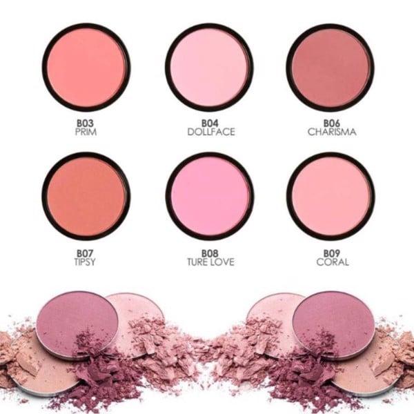 Má hồng Focallure Color Mix Multi Use Refill Pan