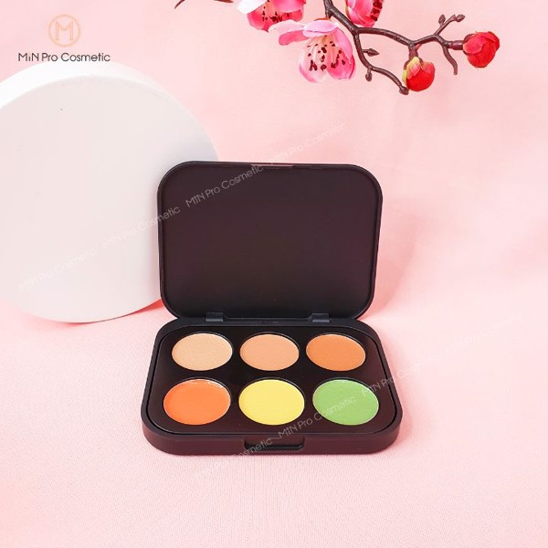 Bảng che khuyết điểm BH Cosmetics Concealer and Corrector 6 ô