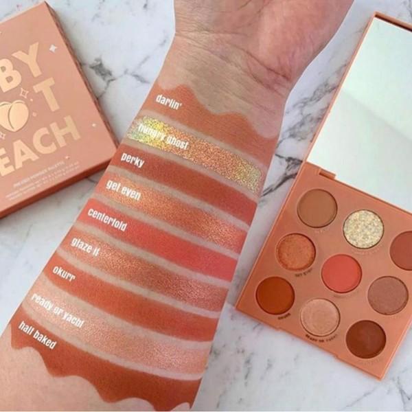 Bảng màu mắt Colourpop Baby Got Peach 9 ô