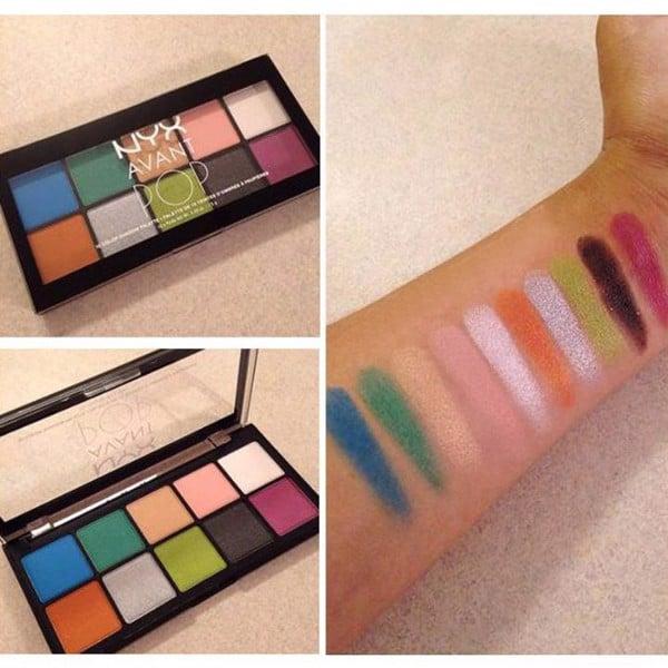 Bảng màu mắt NYX Avant Pop Eyeshadow Palette 10 ô