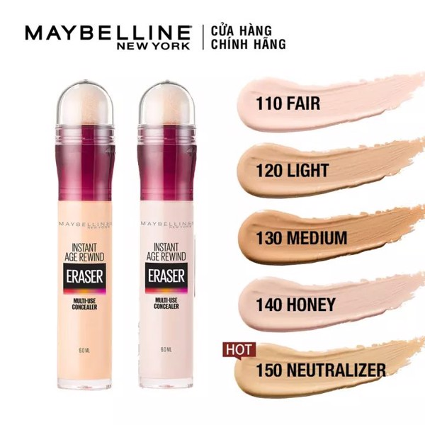Che khuyết điểm Maybelline Instant Age Rewind Effaceur 10ml