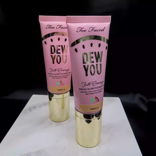 Kem nền Too Faced Tutti Frutti Dew You Full Coverage Fresh Glow