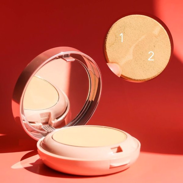 Phấn phủ Aron Glamour Bright 2in1