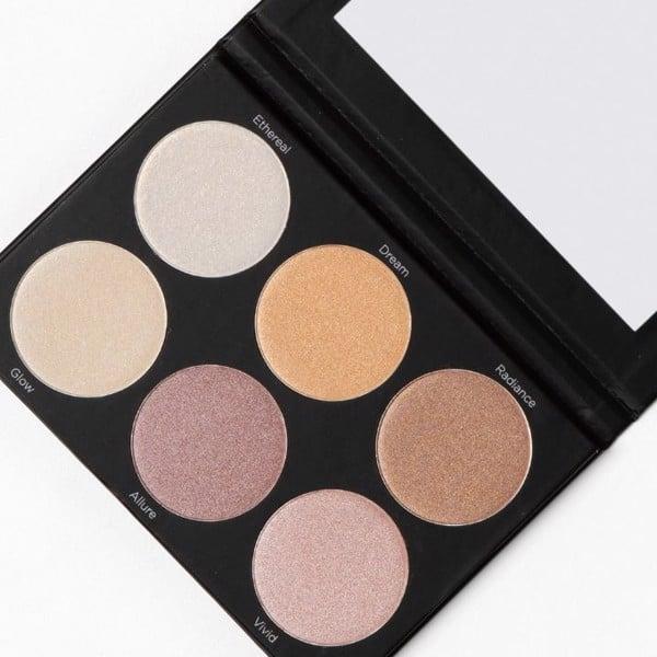 Bắt sáng BH Cosmetics Spotlight highlighttt 6 Color Palette