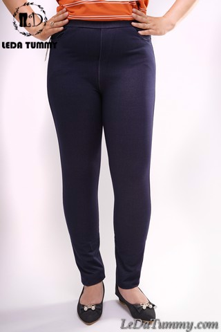 Big size legging pants with jean appearance
