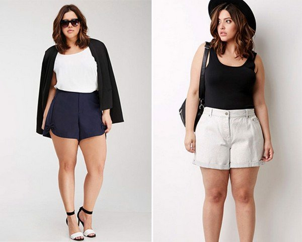 combining clothes for short and fat women