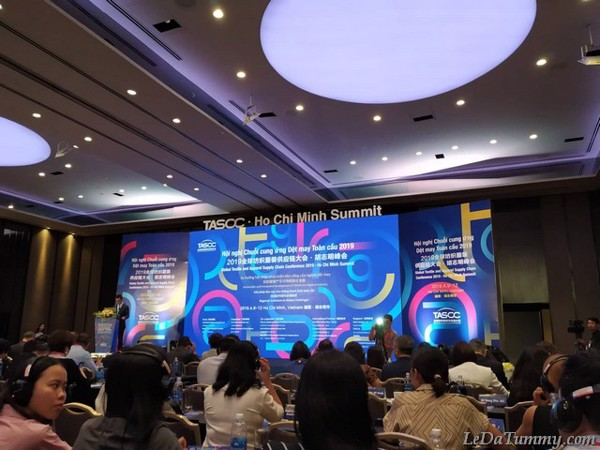 LEDA TUMMY PARTICIPATED THE SEMINAR THE GLOBAL CHAIN OF GARMENT SUPPLYING 2019
