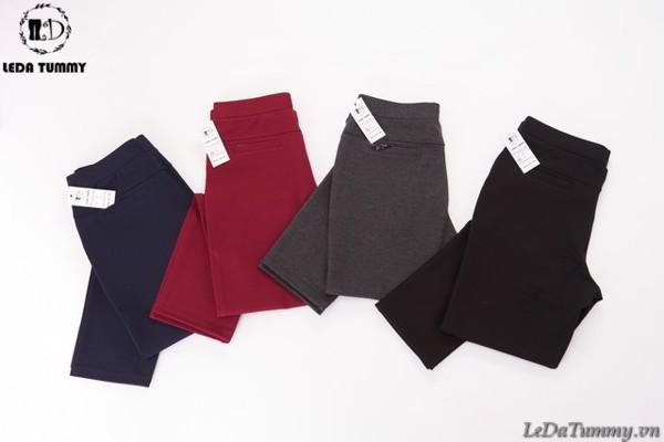 quần thun cotton Hàn Quốc