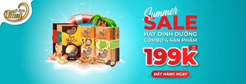 SALE OFF TO 43% COMBO HẠT DINH DƯỠNG HỘP QUYỂN SÁCH