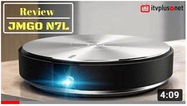 Máy chiếu JMGO N7L Full HD, tiện lợi, thời trang