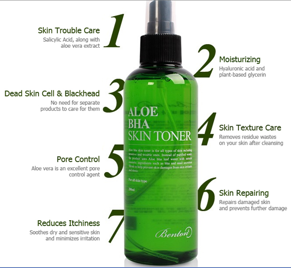 Review Benton Aloe BHA Skin Toner
