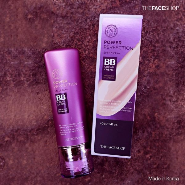 Review The Face Shop Power Perfection BB Cream SPF 37 PA++