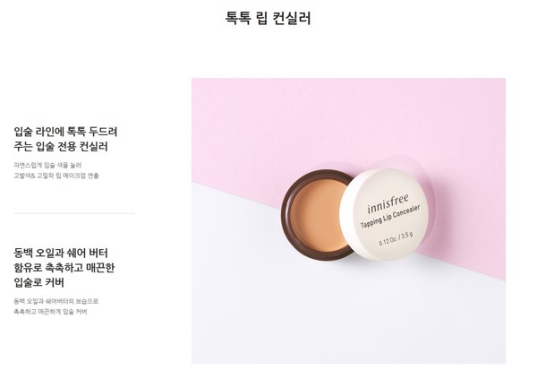 NEW 2019] Kem Che Khuyết Điểm Môi Innisfree Tapping Lip Concealer –  Bicicosmetics