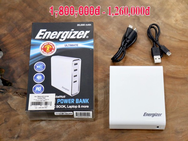 IN DỰ PHÒNGENERGIZER XP20001PD