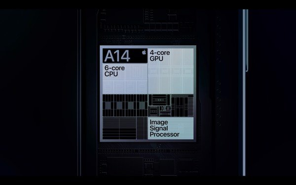 chip a14 iphone 12