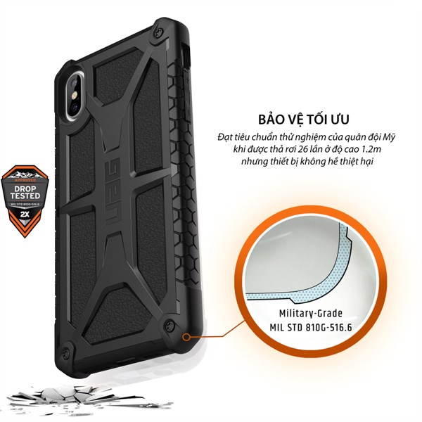 Ốp UAG Monarch XS Max