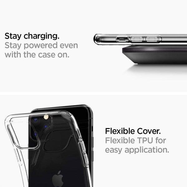 Ốp Lưng IPhone 11 Pro Spigen Liquid Crystal
