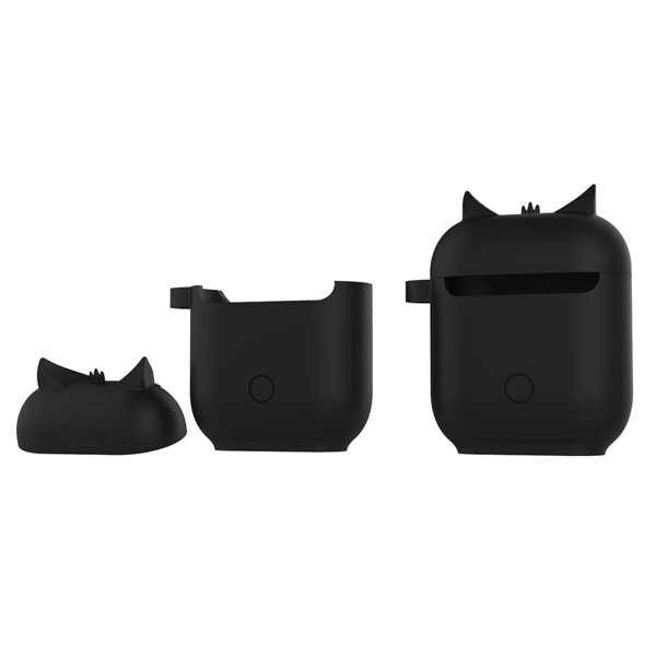 case silicon airpods con cú