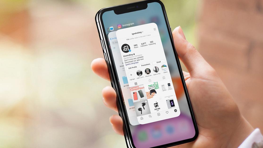 Tắt ứng dụng chạy ngầm iPhone